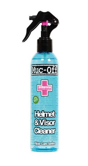 Muc-Off Środek do czyszczenia kasku i szyby Czyszczenie i konserwacja 250 ml niebieski